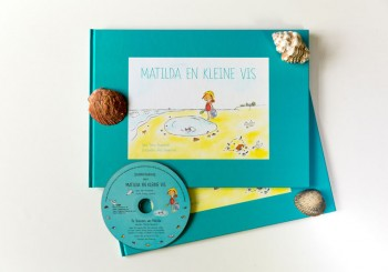 Matilda en Kleine Vis prentenboek met luisterboek op CD