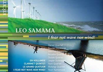 Prachtige dubbel-cd kamermuziekcomposities van Leo Samama