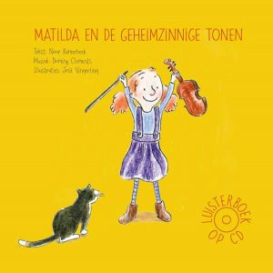 CD Wallet Matilda en de Geheimzinnige tonen vookant